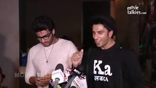 Download Arjun Kapoor Shows Saif's SMS Reply On Kissing Scenes In Ki & Ka - SHOCKING Video