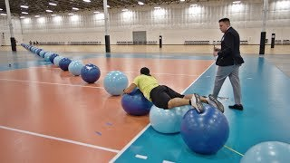 Download World Record Exercise Ball Surfing | Overtime 6 | Dude Perfect Video