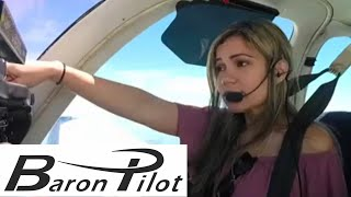 Download Lucy's First Flight Flying Around Storms in a Beechcraft Baron! Video
