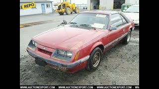 Download FREE 1986 FORD MUSTANG LX, AuctionExport Limited Promo Video