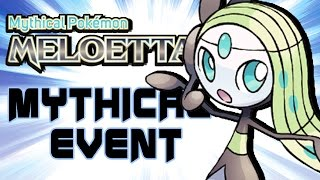 Download Event Meloetta Monthly Mythical Distribution ( How to get Meloetta Pokemon XY ORAS ) Video