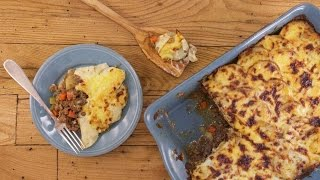 Download Cottage Pie Topped with Scalloped Potatoes Video