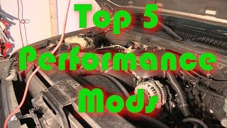 Download Top 5 Performance Mods for Horsepower Video