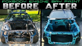 Download TAKING THIS FOXBODY FROM SHlT TO SHINE / ENGINE BAY RESTORATION Video