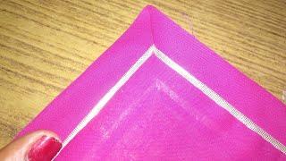 Download राजपूती कुर्ती के कोर्नर बनाए/Rajputi poshak kurti stitching(corner folding) Video