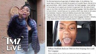 Download Tiffany Haddish Rails On TMZ! | TMZ Live Video