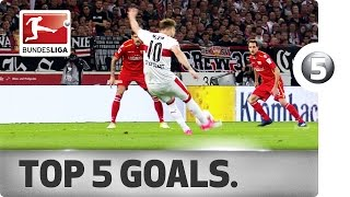 Download Free-Kick Specialists and Delicate Dinks - Top 5 Goals on Matchday 30 Video
