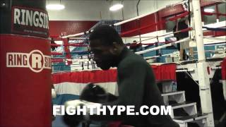 Download ADRIEN BRONER INSANE NON-STOP 40-MINUTE HEAVY BAG WORKOUT Video