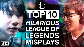 Download The Top 10 Hilarious Misplays in League of Legends Video