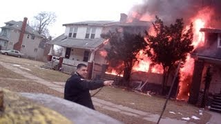 Download 3 well involved house fires on Portage st Highland Park MI fatal Video