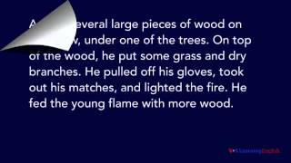 Download To Build A Fire by Jack London Video