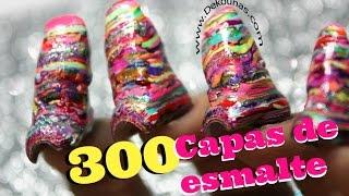 Download 300 capas de esmalte #polishmountain - 300 coats of nail polish Video