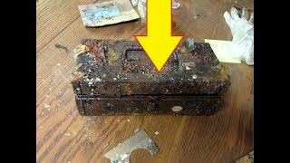 Download A Hidden Safe Revealed Treasures When It Was Finally Cracked Open Video