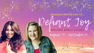 Download Mandisa Invites You to Defiant Joy Online Bible Study! Video