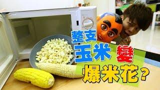 Download 嘎奇麥唬爛#20:整支玉米放微波爐3分鐘。就做出爆米花? (蔡阿嘎網路流言終結者) Video