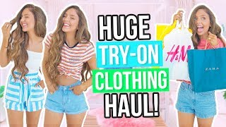 Download HUGE TRY ON Clothing Haul 2017! Forever 21, Zara, H&M, Cotton On & More! Video