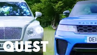Download SUV Face Off: Bentley SUV vs Range Rover Sport SVR | Fifth Gear Video