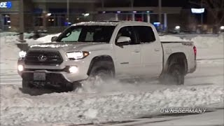 Download 2017 Toyota Tacoma TRD OffRoad Plowing Through Snow Video