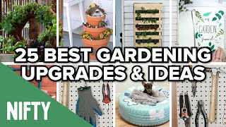 Download 25 Best Gardening Upgrades & Ideas Video