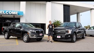 Download Which Ford truck is BEST for YOU? 2019 Ranger or F-150 EcoBoost Video