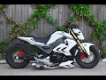 Download Honda Grom MSX125 MSX125sf Air Suspension Bagged Lay Frame Stretch DungStar DungStarGrom Video