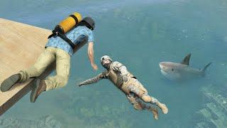 Download GTA 5 Water ragdolls/fails compilation vol.15 [Euphoria physics | Funny Moments] Video
