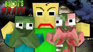 Download Monster School: Baldi's Brave Challenge - Minecraft Animation Video
