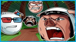 Download DESTROYING EVERYONE INCLUDING MY OWN DESK!! - Mini Golf Funny Moments! (Golf It Rage) Video