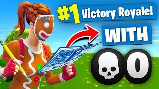 Download WINNING *SOLO* With NO KILLS In Fortnite Battle Royale (Challenge) Video