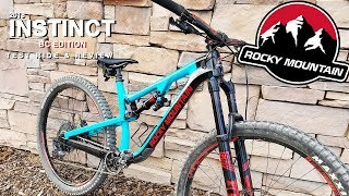Download 2018 Rocky Mountain Instinct // BC Edition // Test Ride & Review Video