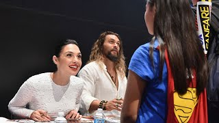 Download Gal Gadot Shares Sweet Moment with Teary-Eyed Little Girl Dressed as Wonder Woman Video