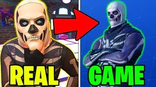 Download I bought a Skull Trooper skin in REAL LIFE from a Fortnite HACKER... Video