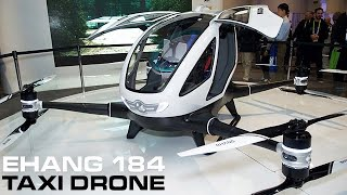 Download EHANG 184 - The World's First Passenger Taxi Drone Video