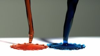 Download Super Hydrophobic Surface and Magnetic Liquid - The Slow Mo Guys Video