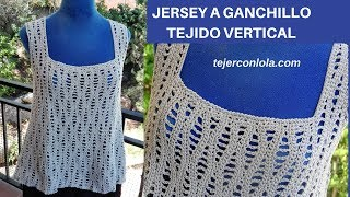 Download JERSEY GANCHILLO TEJIDO VERTICAL Video