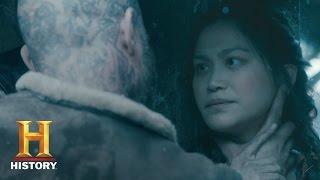 Download Vikings: Yidu Tells Ragnar Her Origin Story - Sneak Peek (Season 4, Episode 4) | History Video