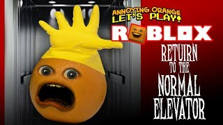 Download Roblox: RETURN to the NORMAL ELEVATOR! [Annoying Orange Plays] Video