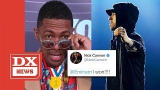 Download Nick Cannon Declares Himself The Winner In Eminem Rap Battle Video