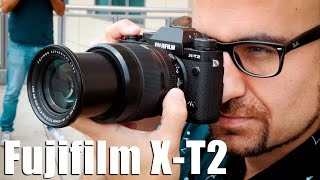 Download Fujifilm X T2: toma de contacto Video