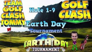 Download Golf Clash tips, Hole 1-9 - Walkthrough! Rookie division - Earth Day Tournament! Video