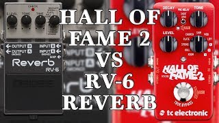 Download TC Electronic Hall Of Fame 2 VS Boss RV-6 Reverb (Comparison) Video