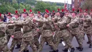 Download Laying Down Of The Black Watch Colours Parade Perth Perthshire Scotland June 23rd Video