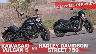 Download Kawasaki Vulcan S vs Harley-Davidson Street 750 | And the best mid-capacity cruiser is... Video