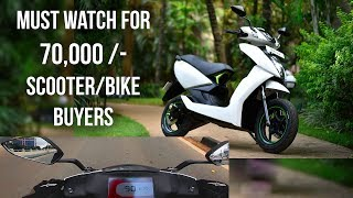 Download Ather 450 An Extraordinary Scooter || Must Watch for 70,000/- Plus Buyers Video