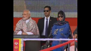 Download PM Modi unveils the Plaque to mark the Commencement of work on Zojila Tunnel in Leh | PMO Video