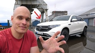Download First Drive in an All Electric Mercedes – Whats Under The Hood?! Video