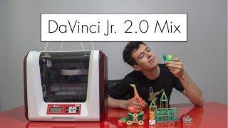 Download Blending Colors with the DaVinci Jr. 2.0 Mix // 3D Printer Review Video