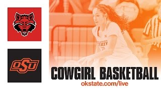 Download Cowgirl Basketball vs. Arkansas State Video