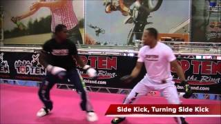 Download Light Sparring Attack and Defense Techniques (kickboxing) Video