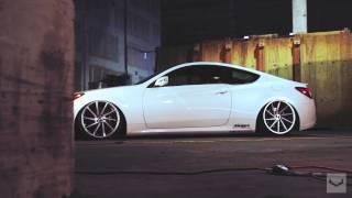 Download Hyundai Genesis 3.8 | Vossen CVT Directional Wheels | Rims Video